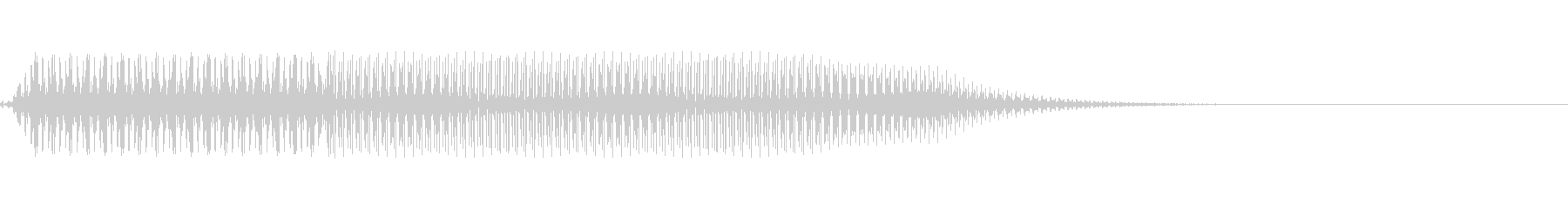 ボタン押下や決定音_ピロッ!の未再生の波形