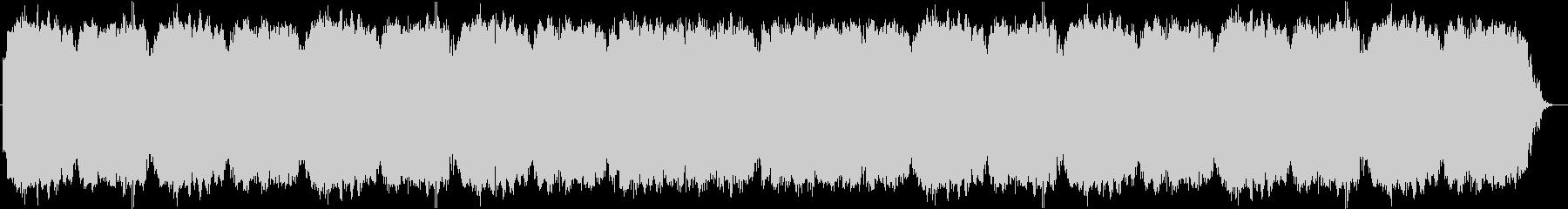 二胡(中国の民族楽器)を使用したBGMの未再生の波形