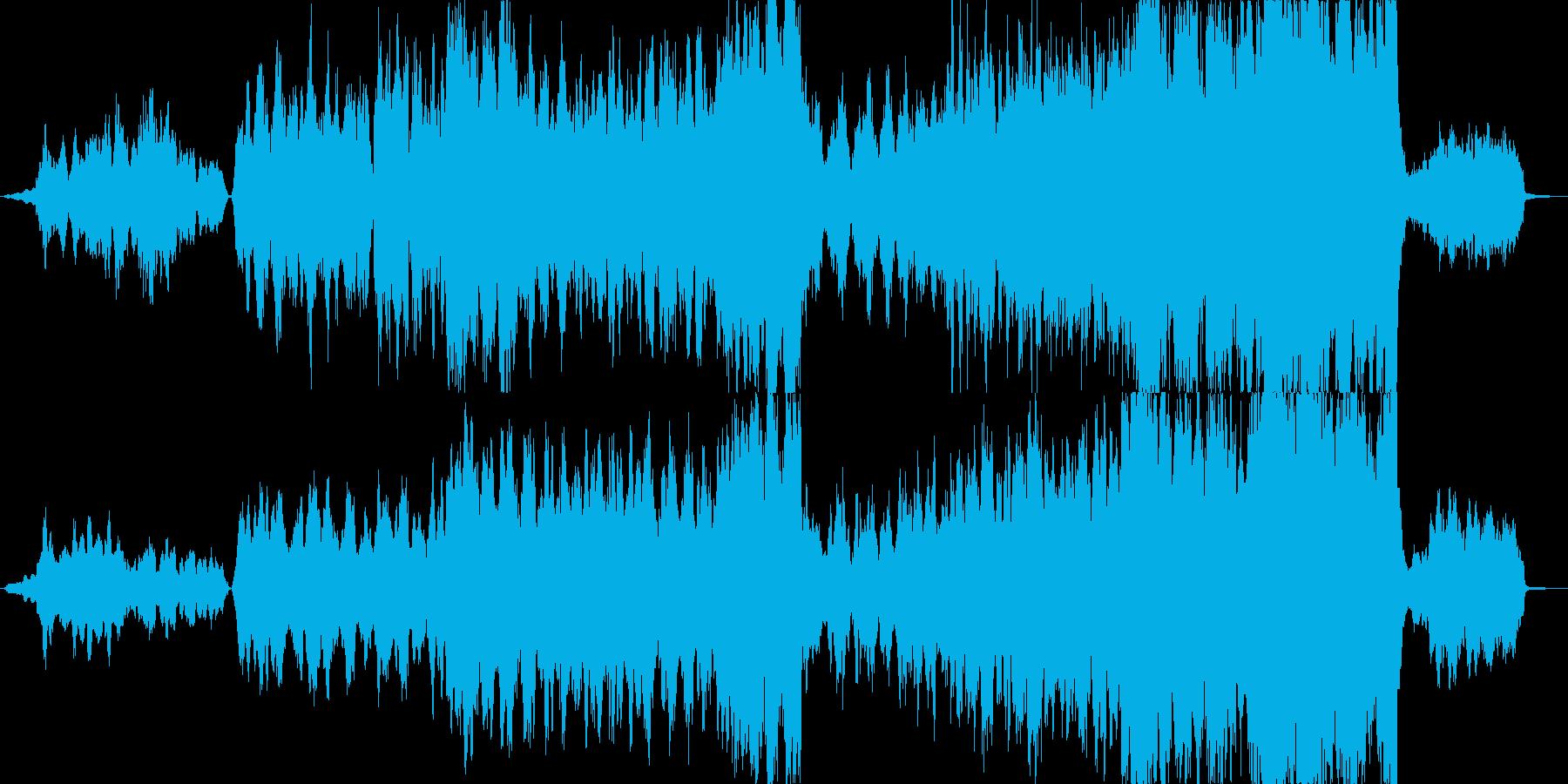 映画音楽を意識しました。どんな困難があ…の再生済みの波形