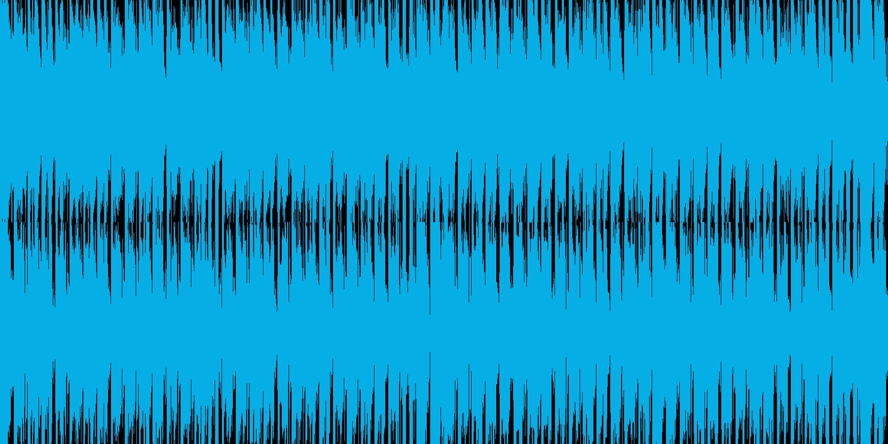 ジングルベル スキャット入り1 ループの再生済みの波形