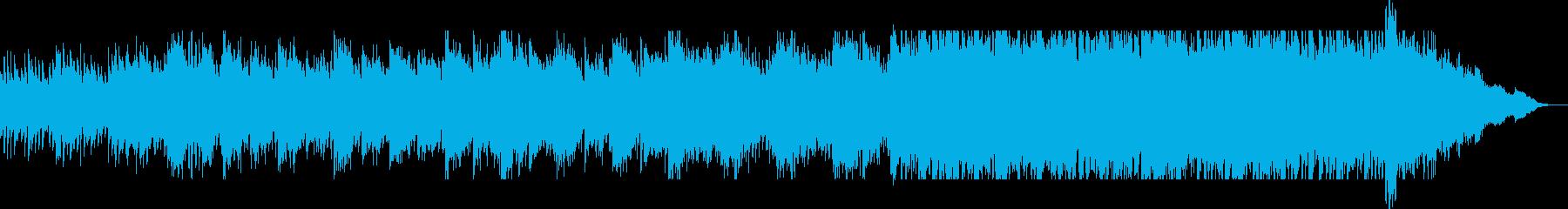 力強いピアノのメロディが壮大なポップの再生済みの波形