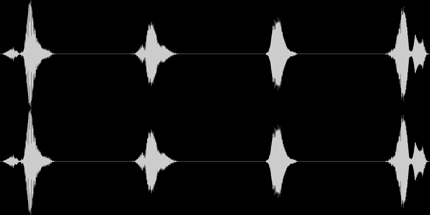 【子供カウント】3、2、1、0!(英語)の未再生の波形