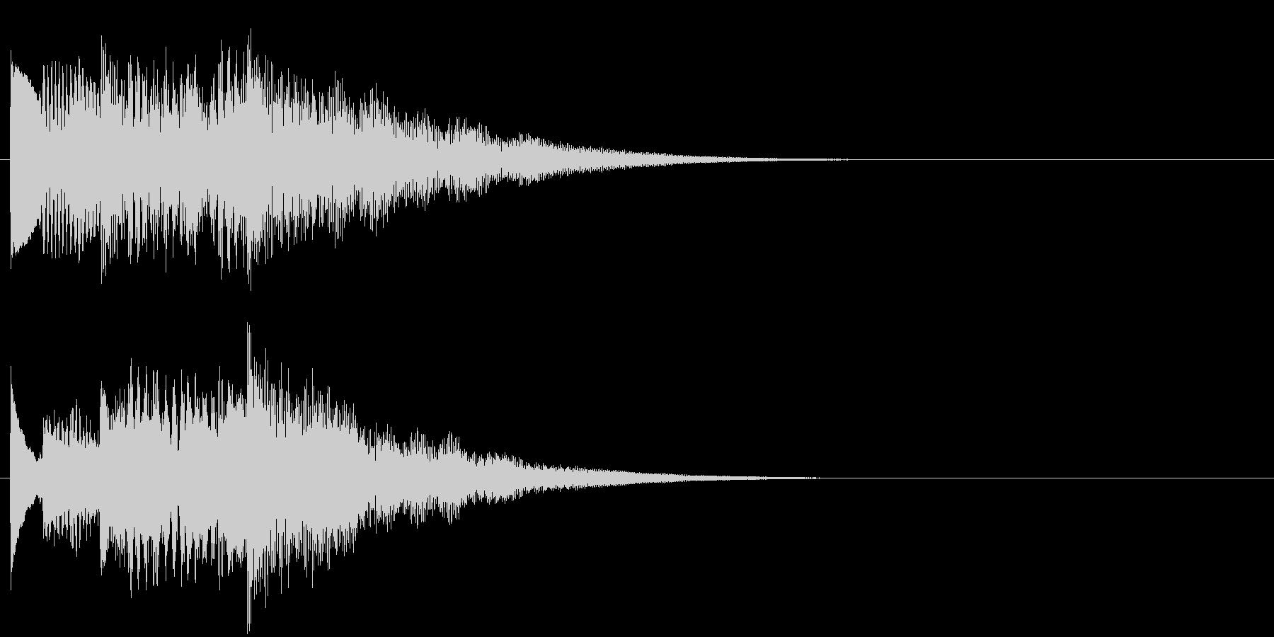 フレーズ系09 文字、スーパー表示(大)の未再生の波形