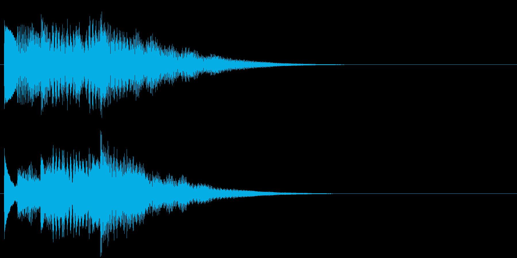 フレーズ系09 文字、スーパー表示(大)の再生済みの波形