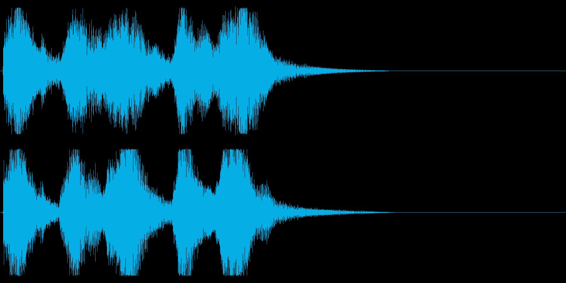 レベルアップ等の再生済みの波形