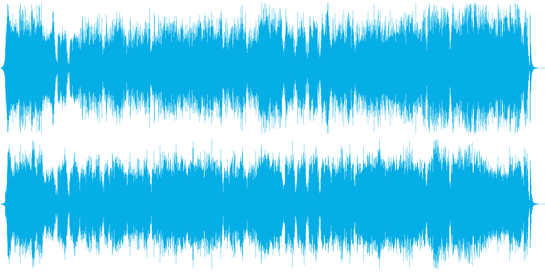 優雅で大らかなストリングスポップの再生済みの波形