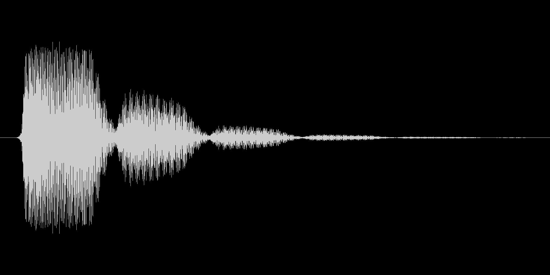 ファミコン風効果音 決定音系です 25の未再生の波形