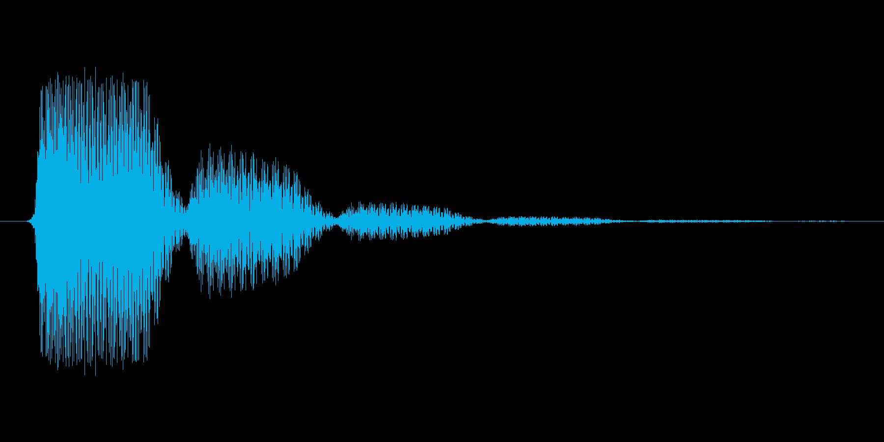 ファミコン風効果音 決定音系です 25の再生済みの波形