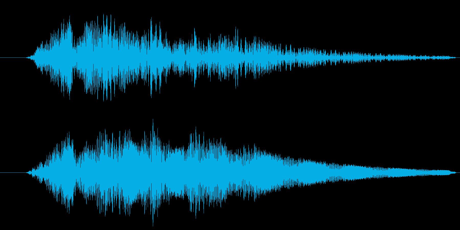 プルプル(スライム・ゼリー)4の再生済みの波形