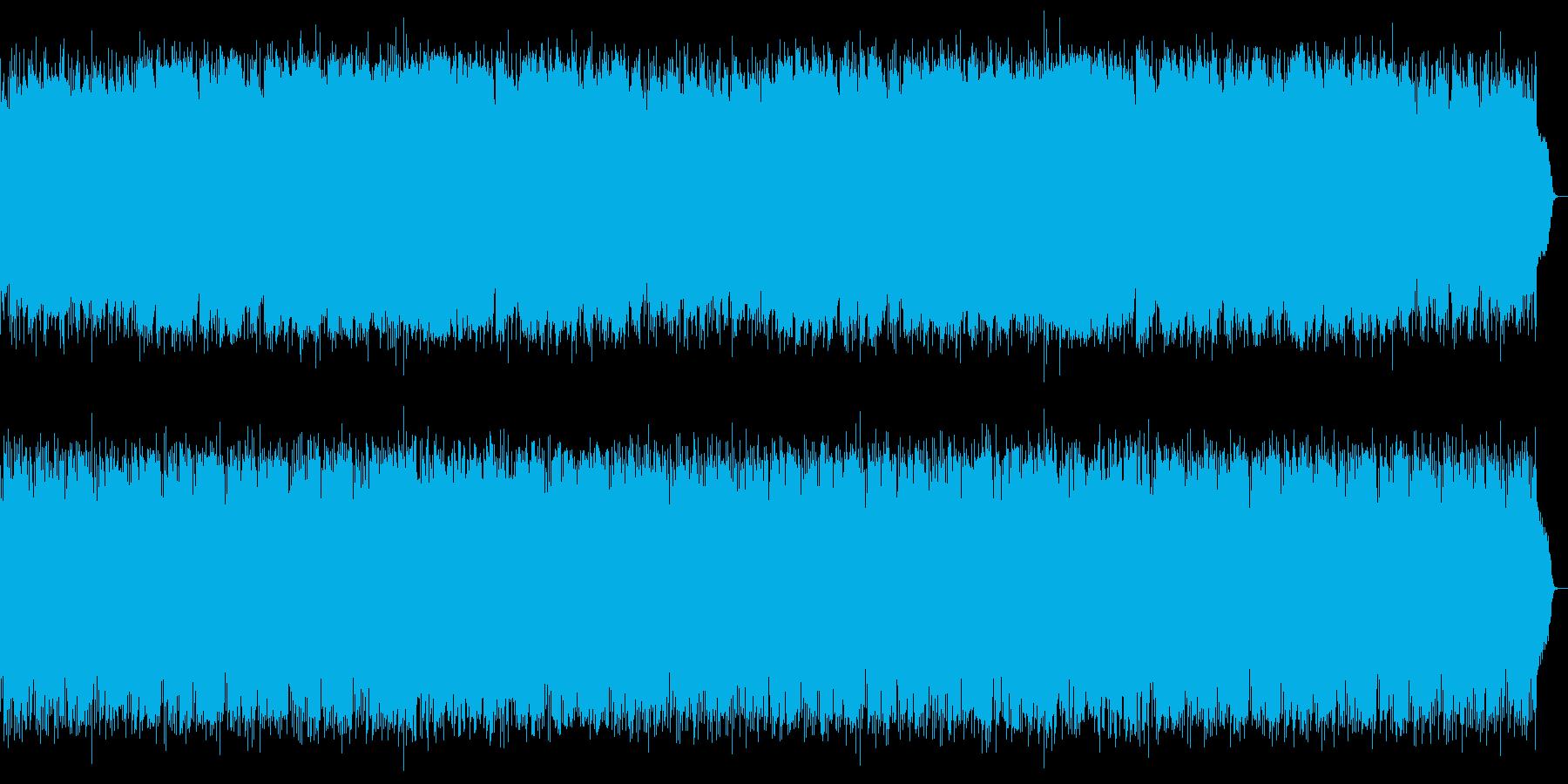 ロマンチックで優しいSAXメインの軽音楽の再生済みの波形
