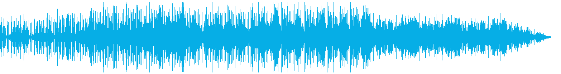 きらきらしたエレクトロニカの再生済みの波形