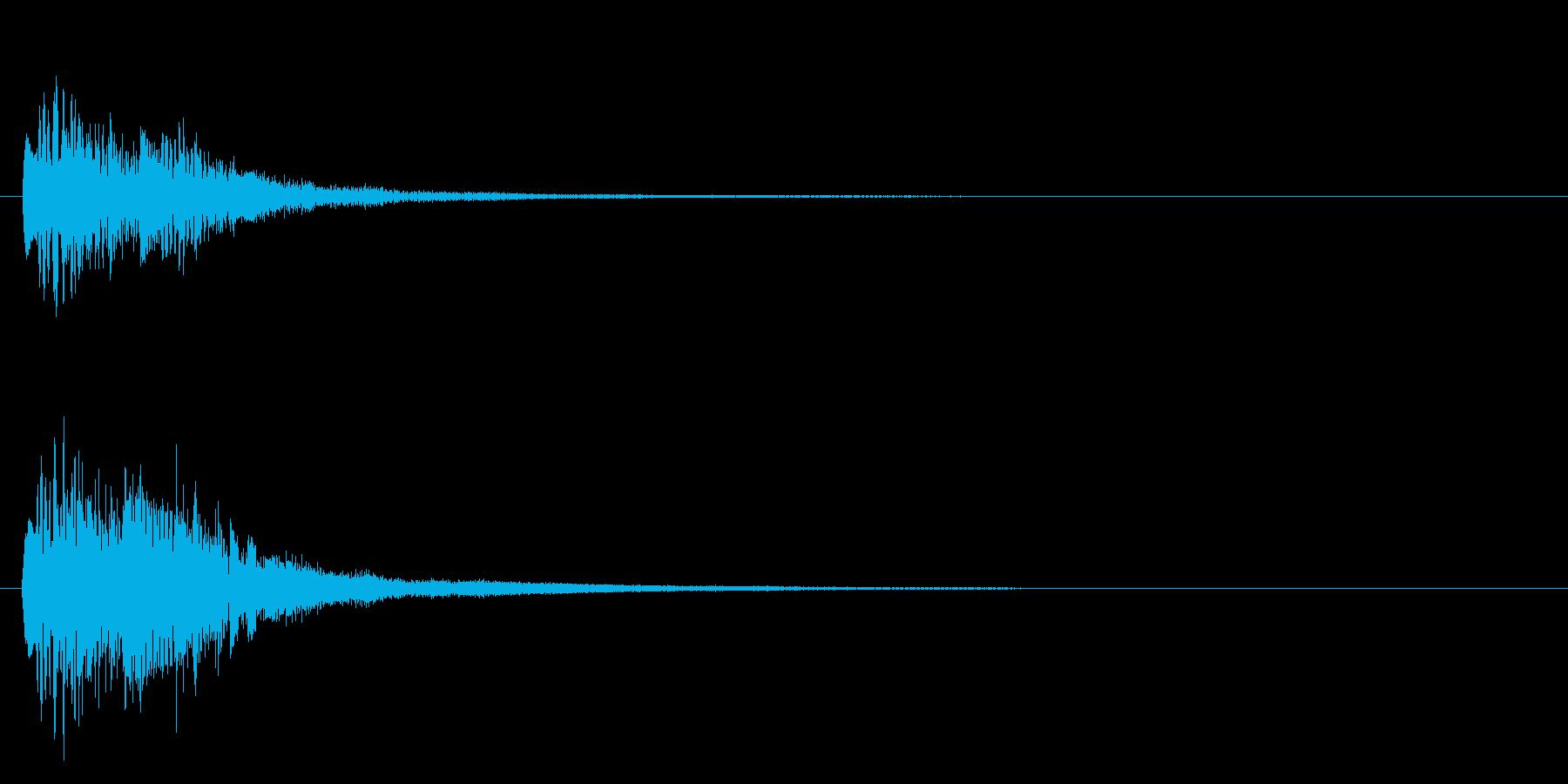 ピアノのキラキラ上昇音【キラキラキラーンの再生済みの波形