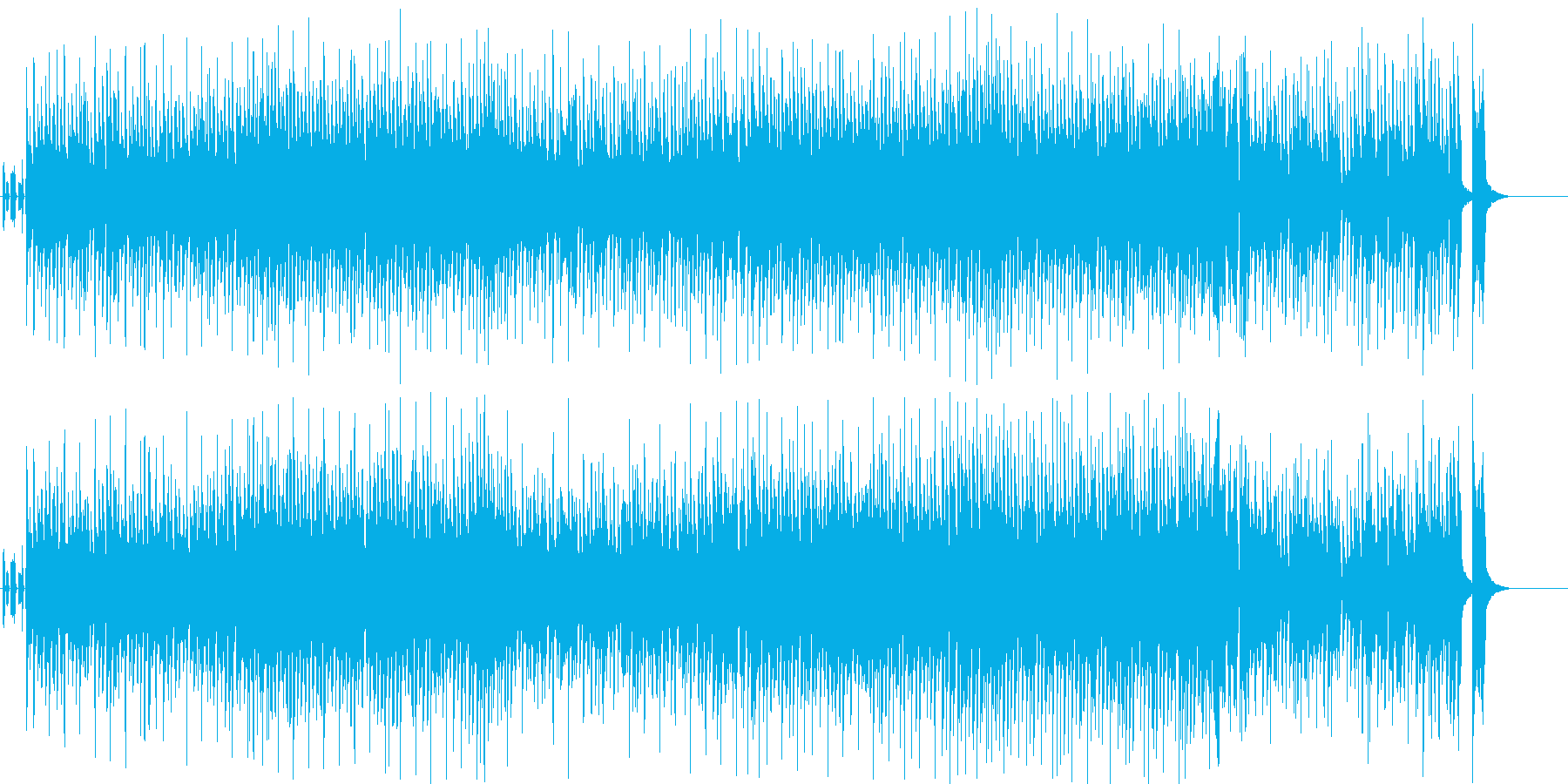 情報 CM 軽快 アウトドア 若さ 空の再生済みの波形