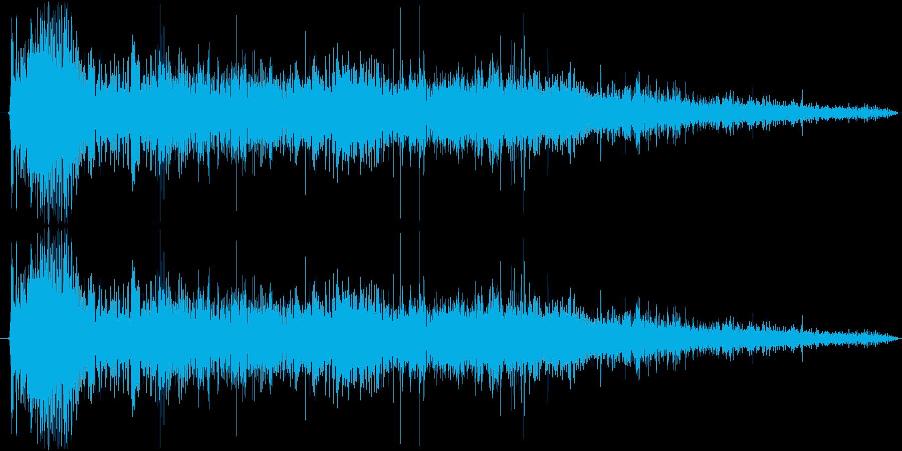 【★水/ドボン/ポチャン/水が落ちる】の再生済みの波形