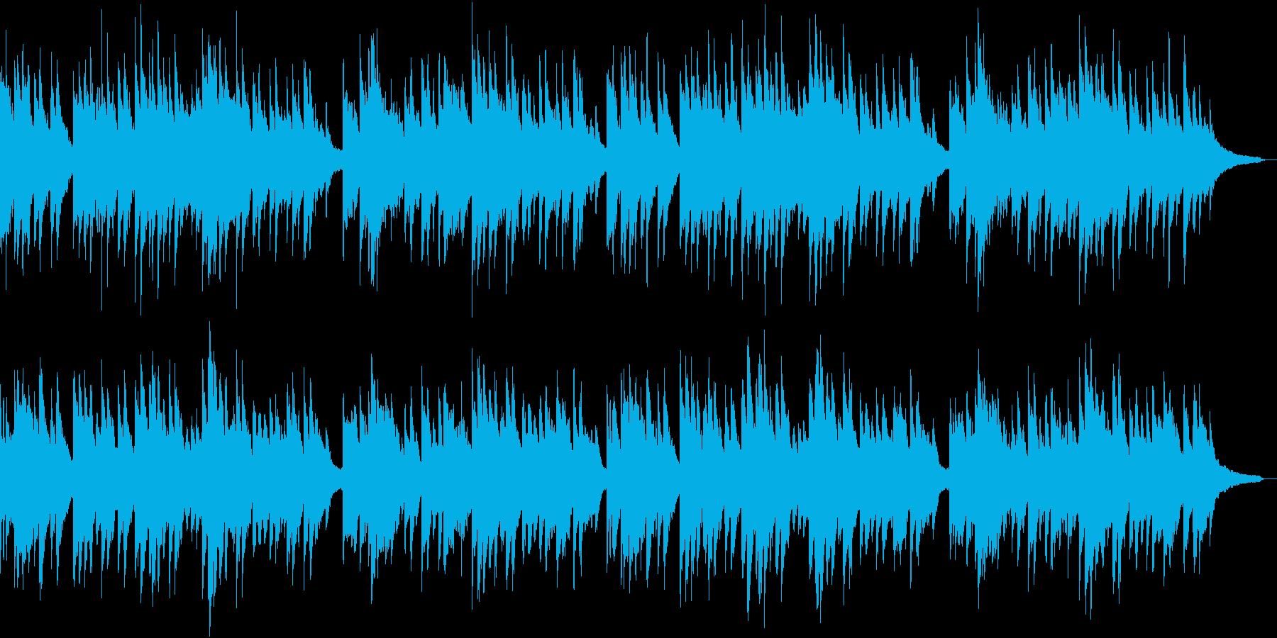 峠の我が家 ピアノ伴奏の再生済みの波形