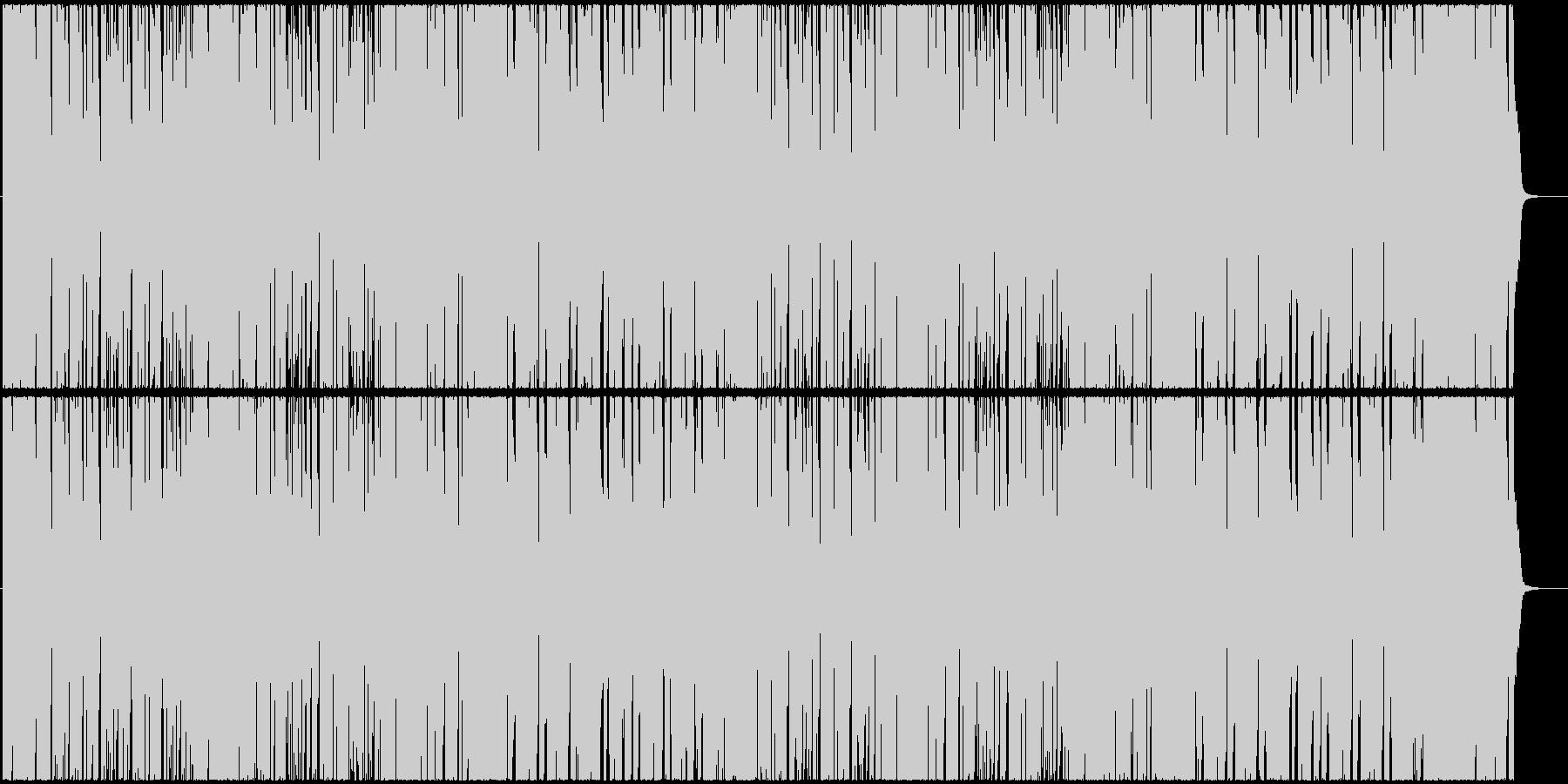 クールなちょい悪オジサンが登場(ジャズ)の未再生の波形