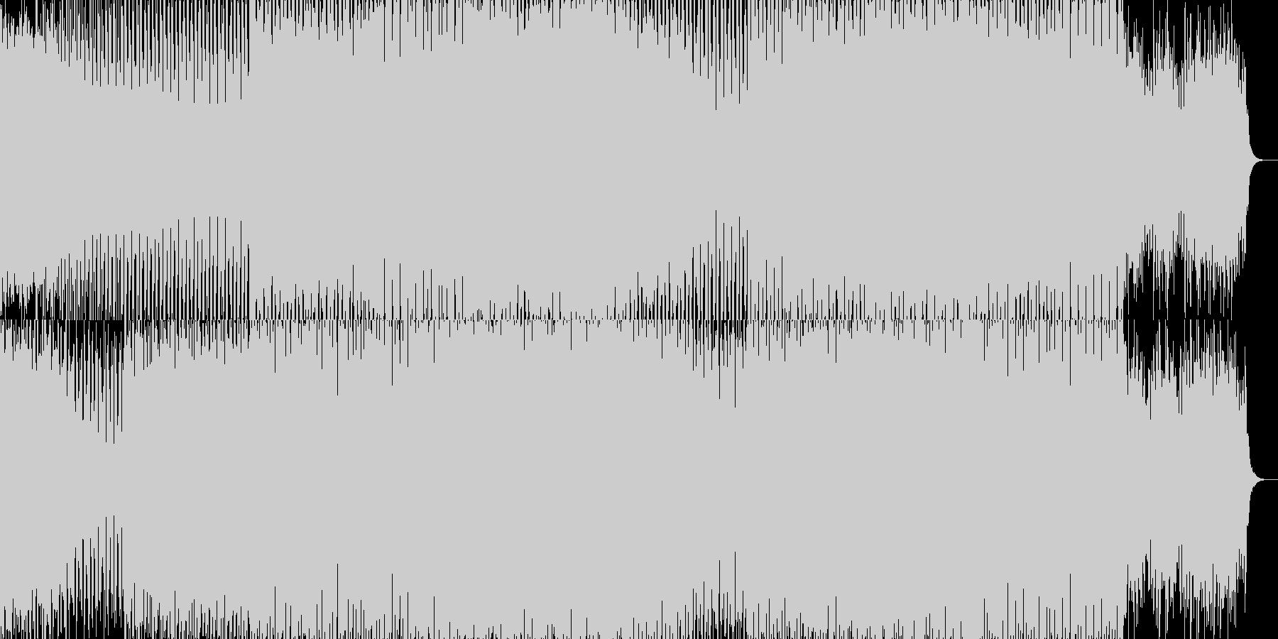EDMクラブ系ダンスミュージック-70の未再生の波形