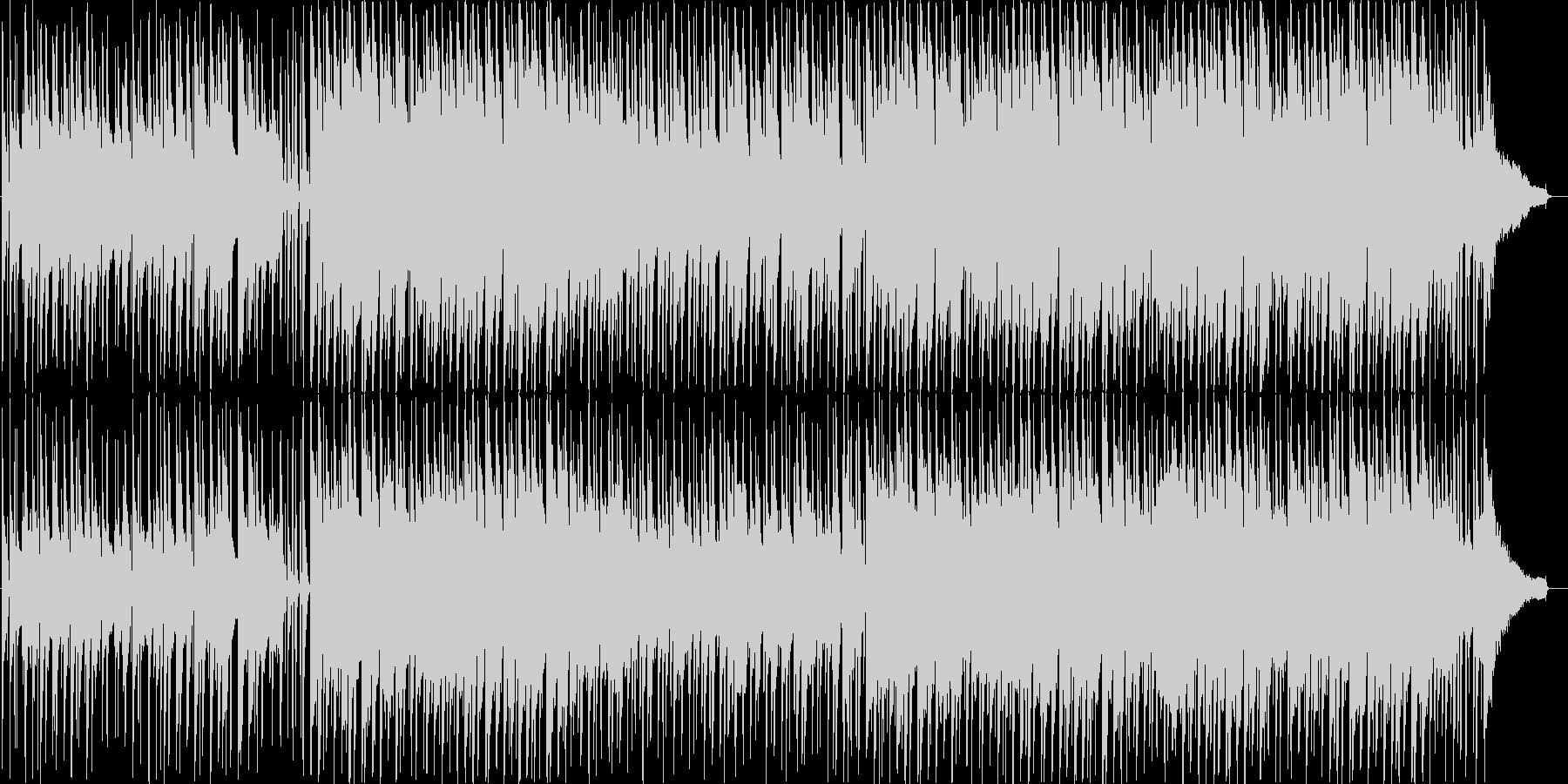 穏やかでハッピーなBGM♪の未再生の波形