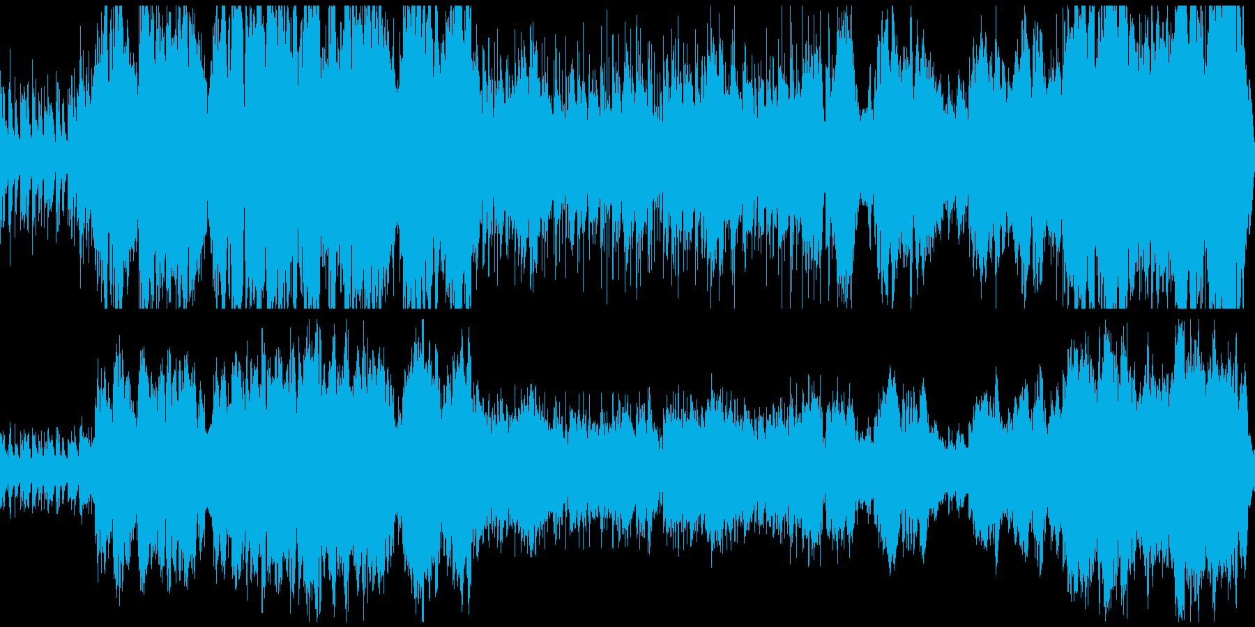 冒険/わくわく/期待/希望/オーケストラの再生済みの波形