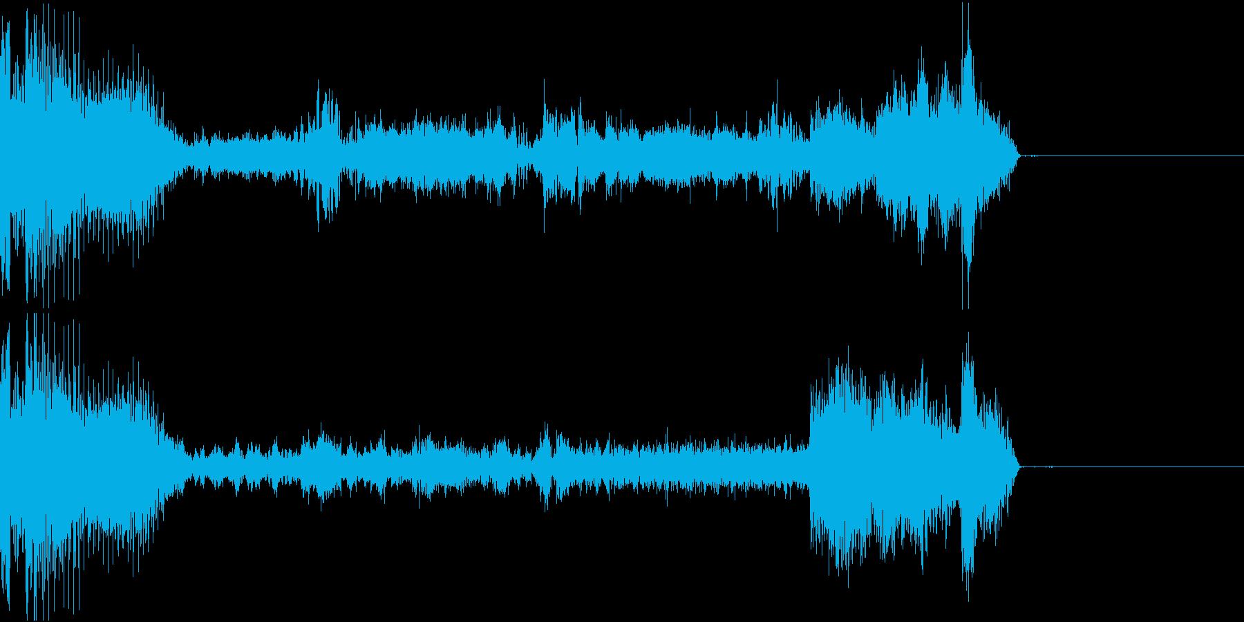 FMラジオ的ジングル8の再生済みの波形