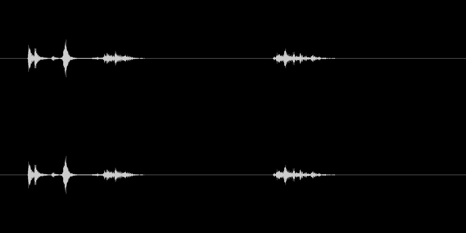 【プリンター01-on1】の未再生の波形