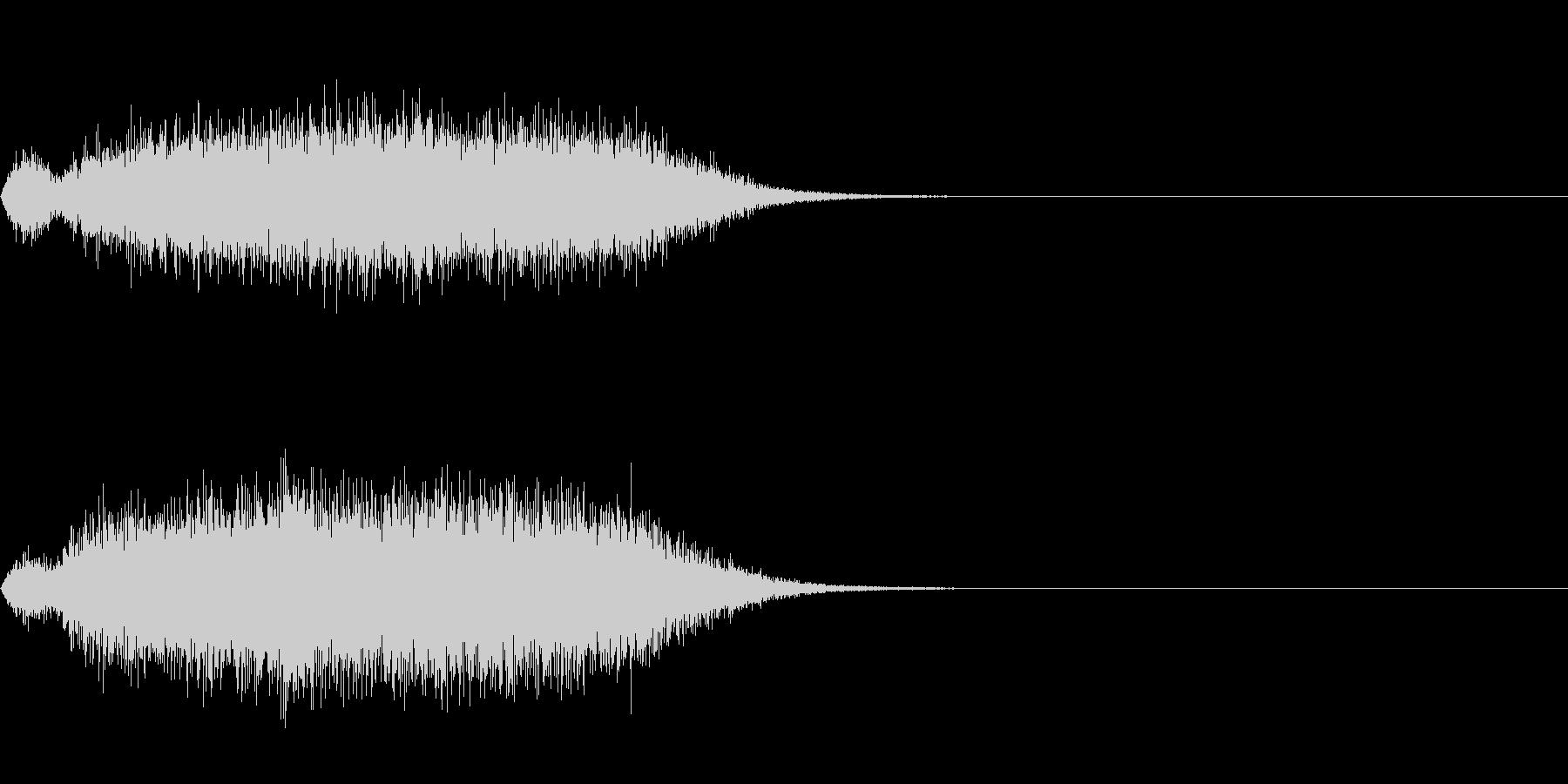 シュー(空気、蒸気、ガス)の未再生の波形