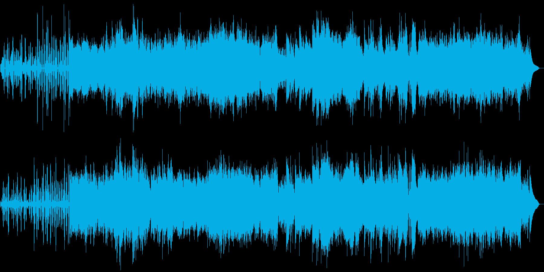 例えば、舞台の導入の再生済みの波形