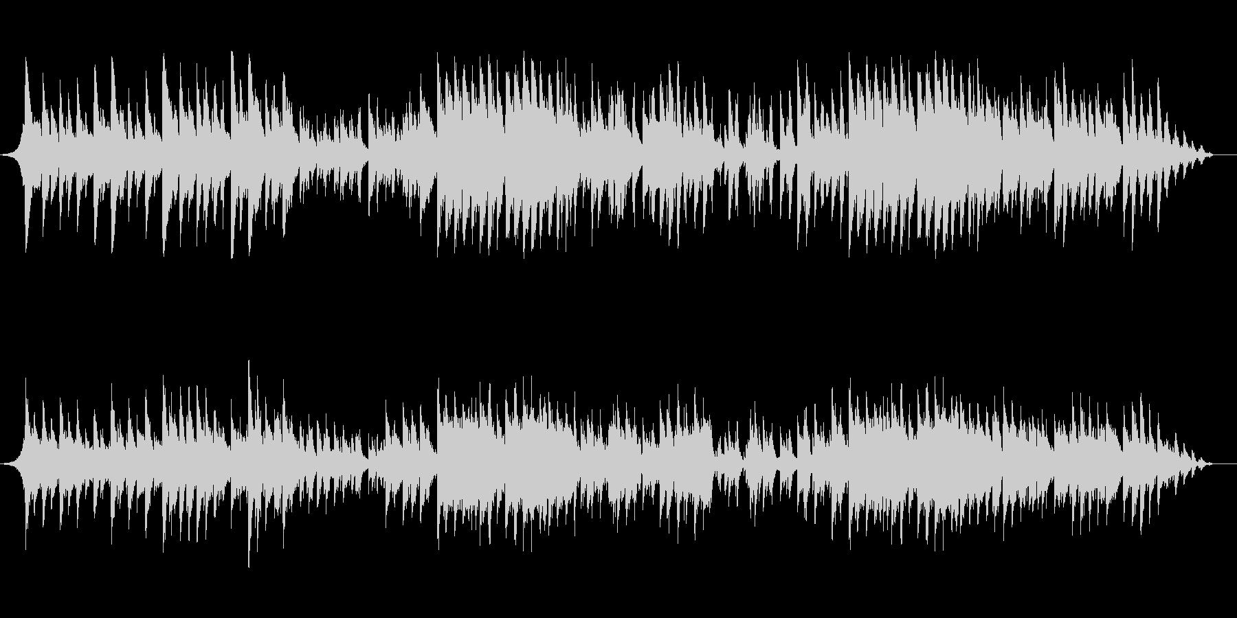 ピアノ弾き語り系で爽やかな曲の未再生の波形