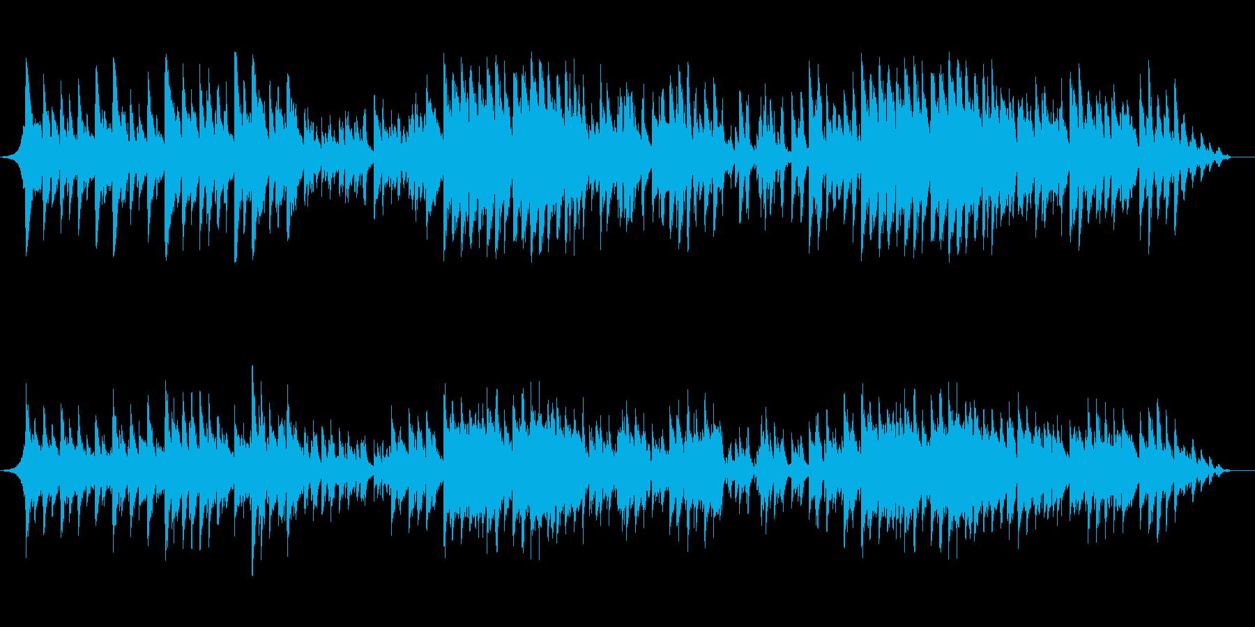 ピアノ弾き語り系で爽やかな曲の再生済みの波形