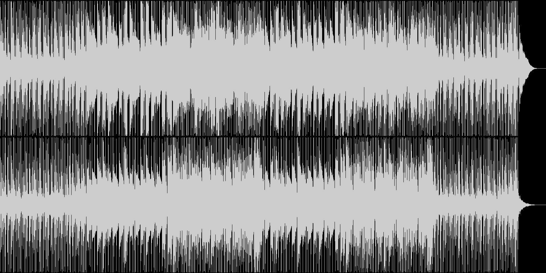 爽やかな朝を感じるR&Bポップスの未再生の波形