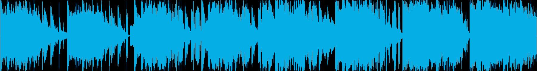 ややクセのある不穏な空気演出系エレクトロの再生済みの波形