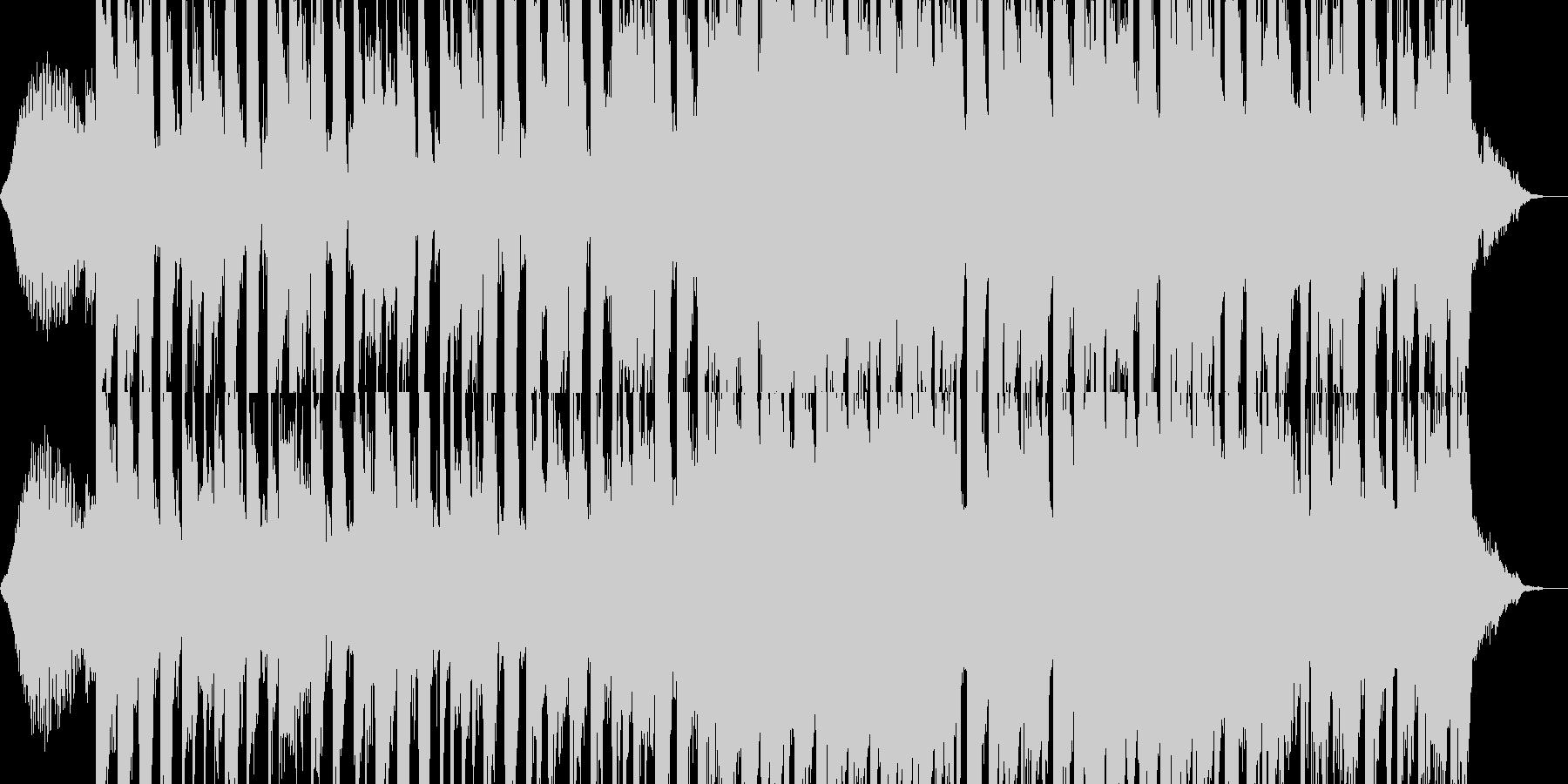 爽やか・始まり・ジングル・ピコピコの未再生の波形