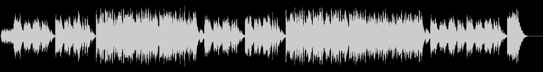 透明なポップバラード(フルサイズ)の未再生の波形
