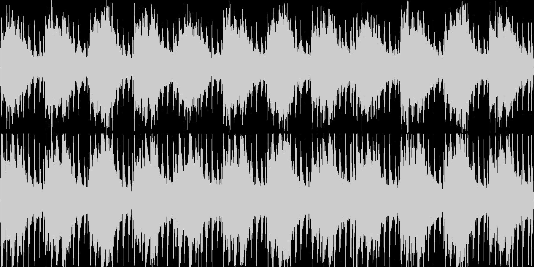 おしゃれなピアノの未再生の波形