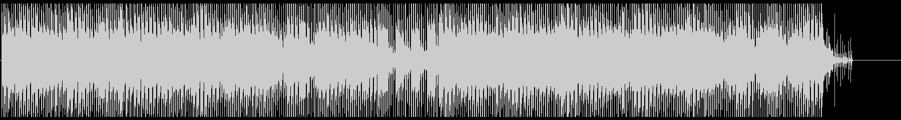 明るくポップなシンセサウンドの未再生の波形