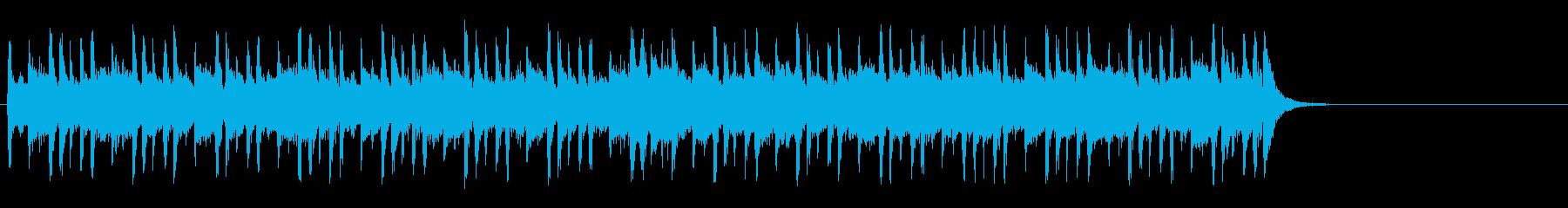 大らかな気分になるポップ(イントロ~A)の再生済みの波形