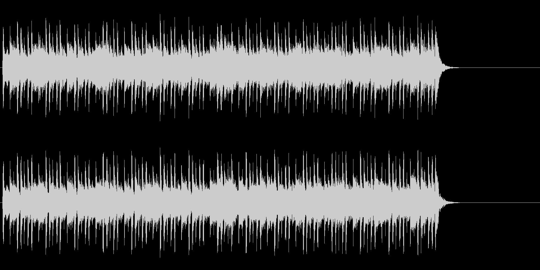 大らかな気分になるポップ(イントロ~A)の未再生の波形