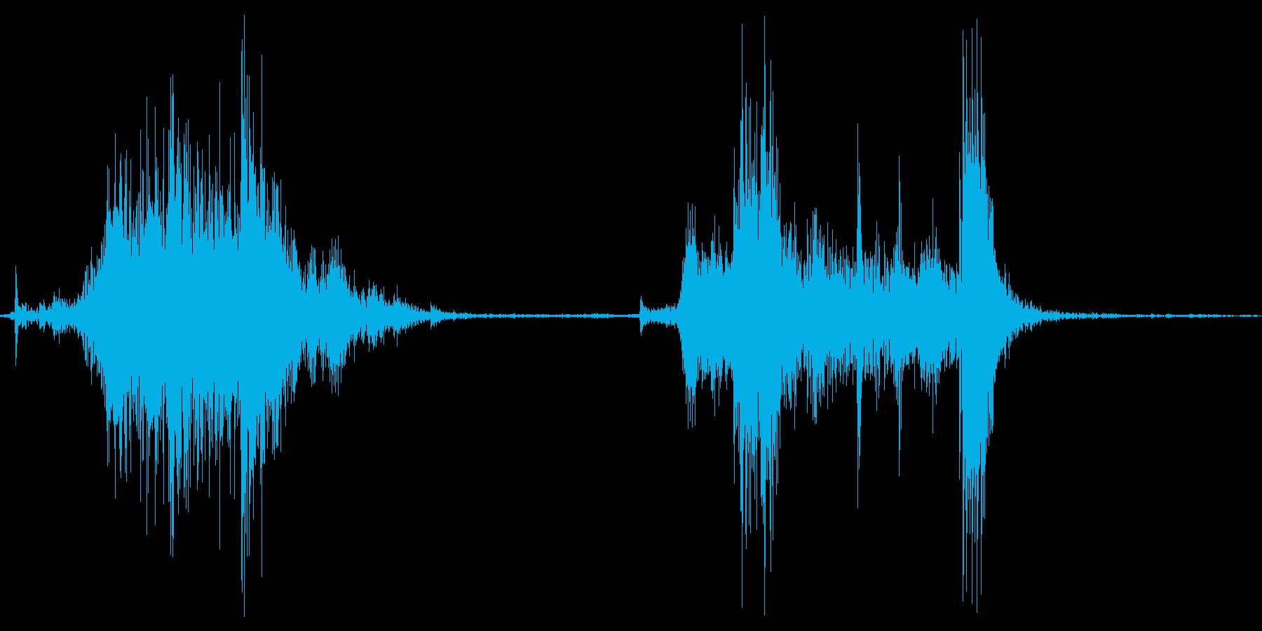 ガラッの再生済みの波形