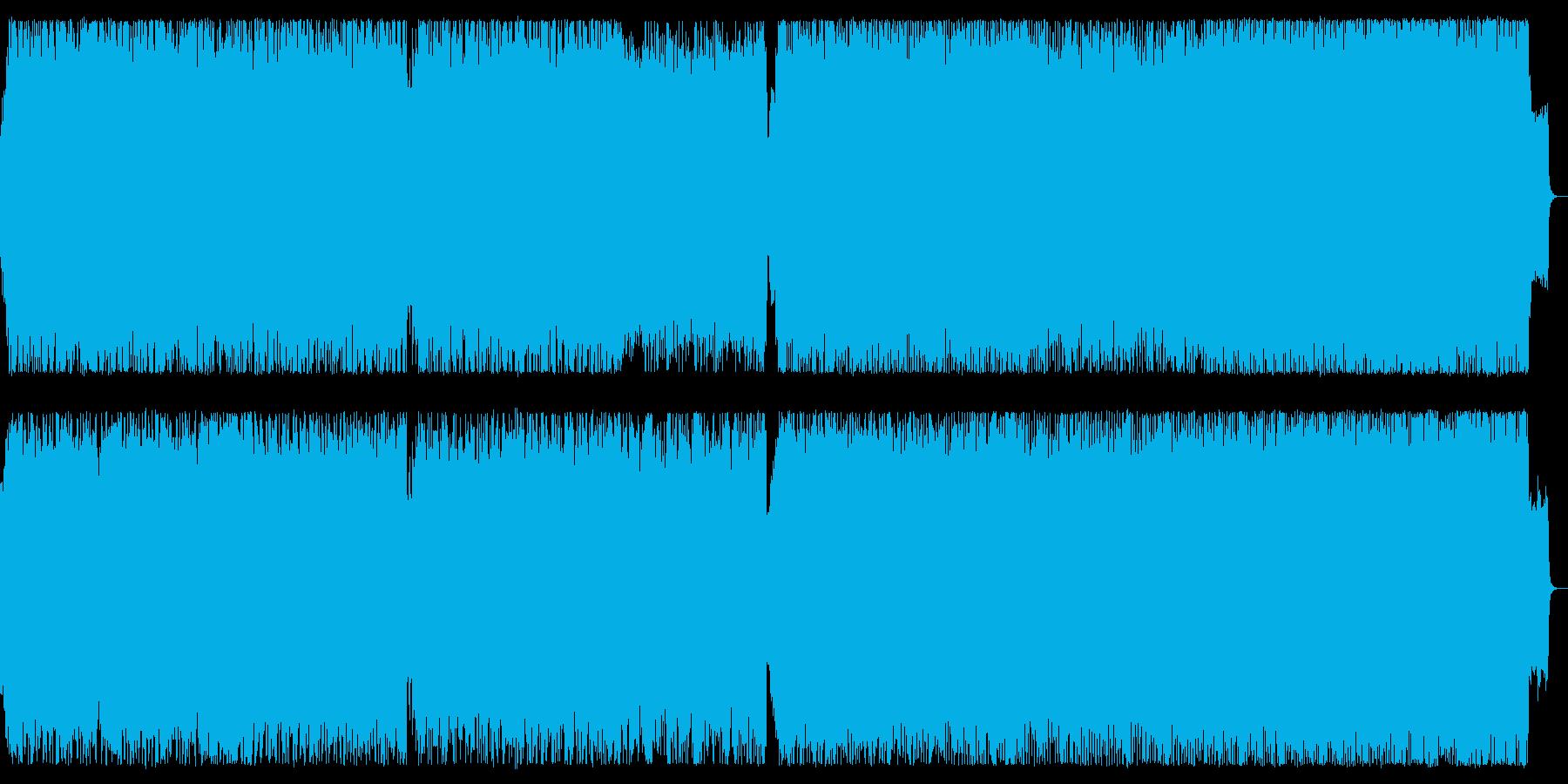 戦場を彷彿させるオーケストラ・ロング版の再生済みの波形