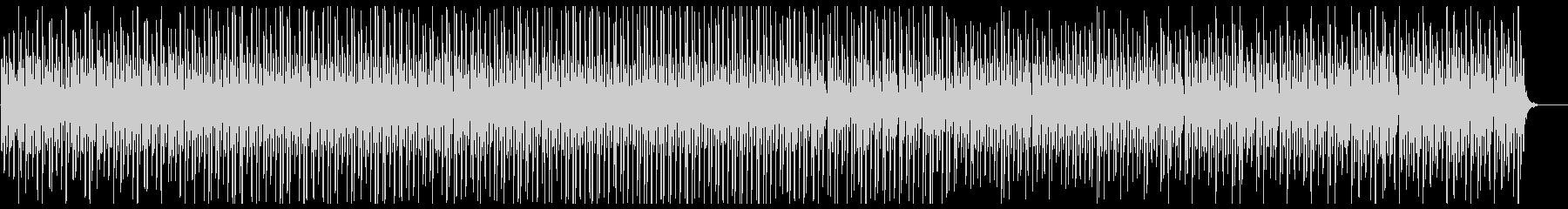 リズミカルなピアノインストルメントの未再生の波形