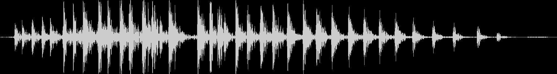 ギギギギ(屋敷で何かがきしむ嫌な物音)の未再生の波形