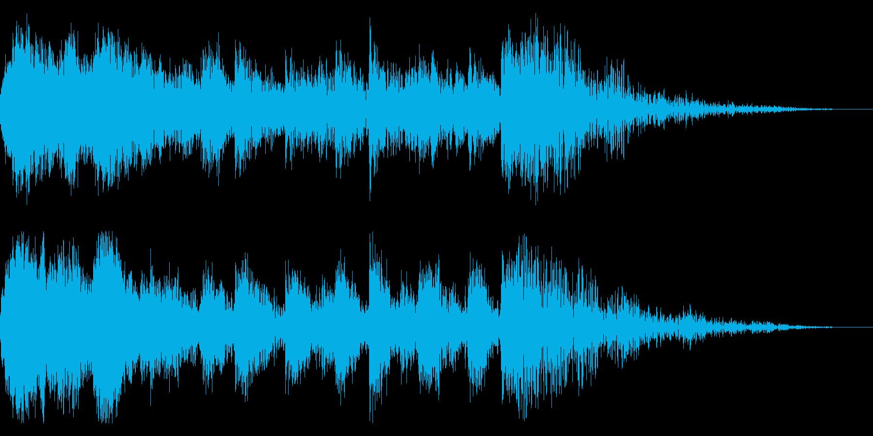よお〜!ドン!/太鼓/歌舞伎ジングル14の再生済みの波形