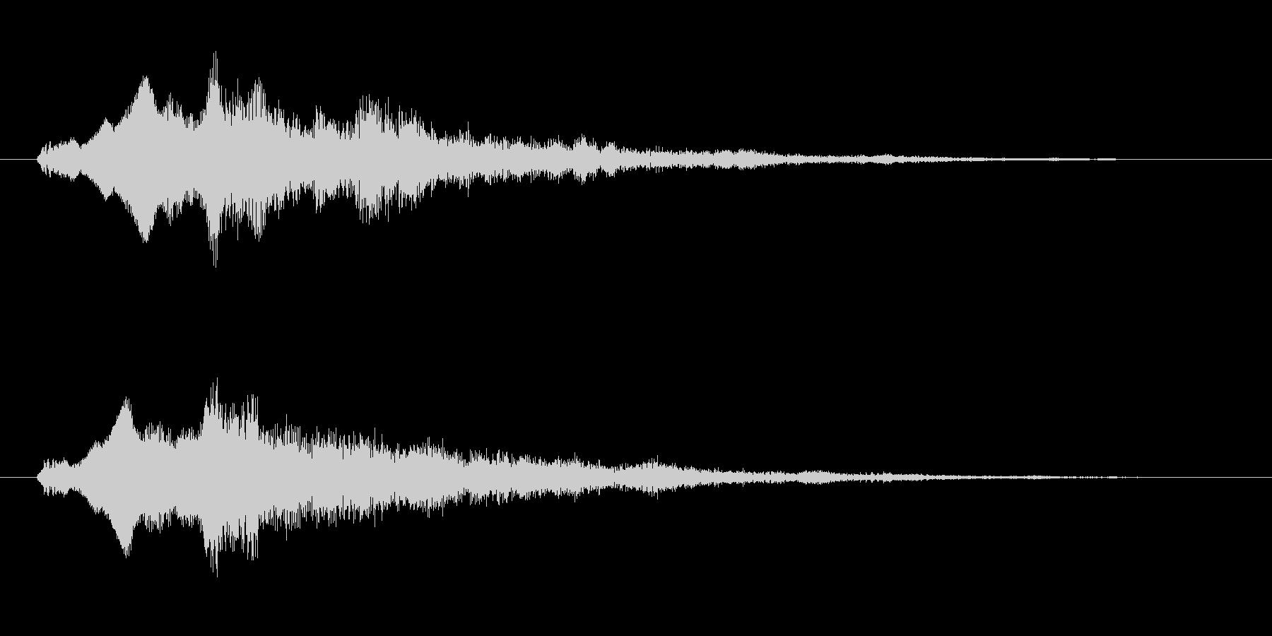 サウンドロゴ(企業ロゴ)_022の未再生の波形