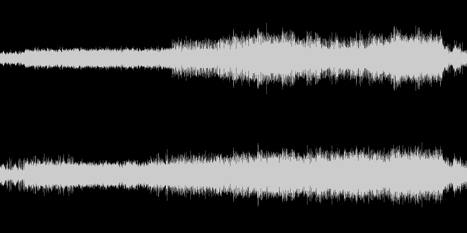 映像、ゲームのステージBGM(ケルト風)の未再生の波形