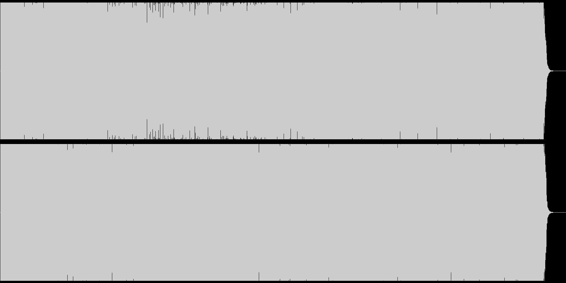 オリエンタルなEDMの未再生の波形