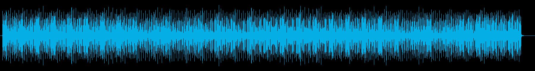 心躍るヒップホップ系サウンドの再生済みの波形