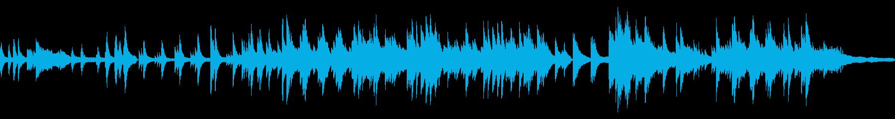 静かで優しいソロピアノのジャズバラードの再生済みの波形