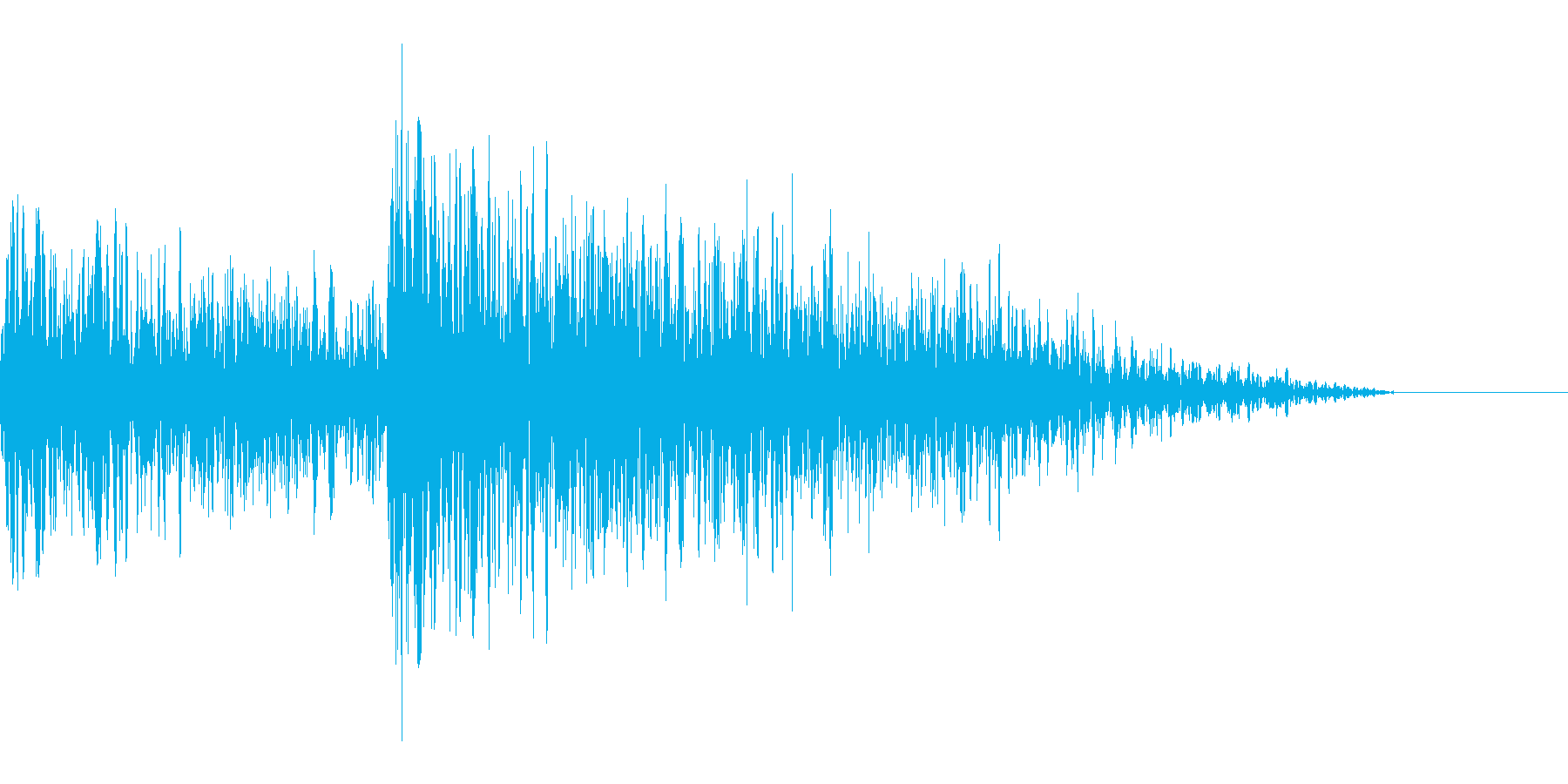 デデン(出題)の再生済みの波形