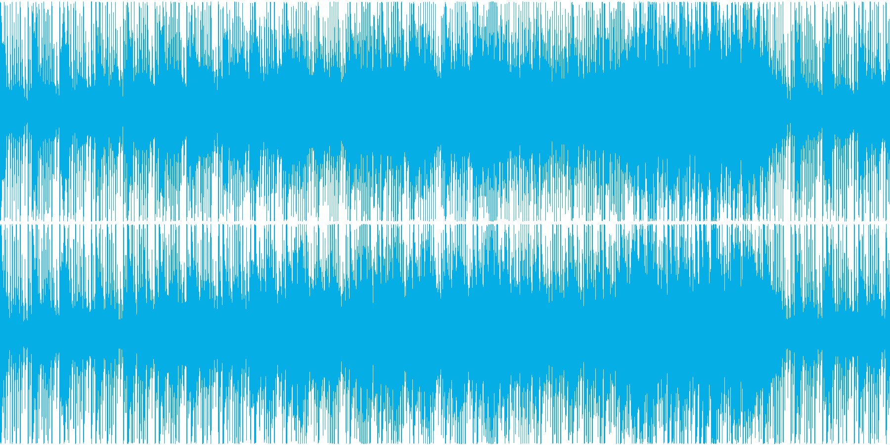 ゲーム用BGM 民族音楽風BGMの再生済みの波形