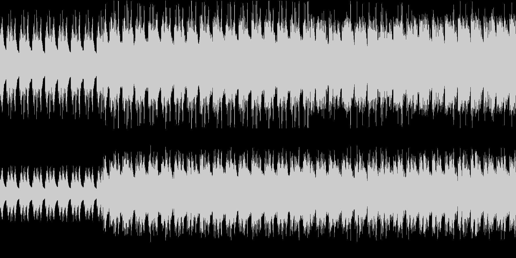 おばけの森 RPG風 ループの未再生の波形